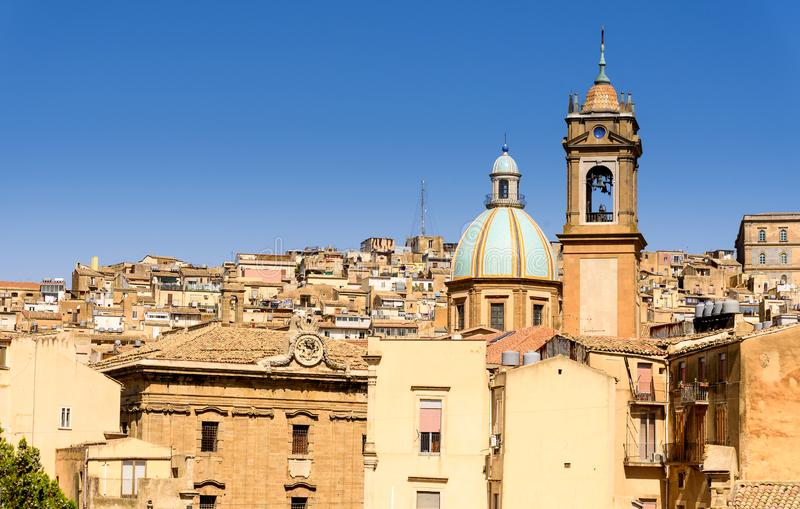 Caltagirone, Sicília, Itália fotos de stock royalty free