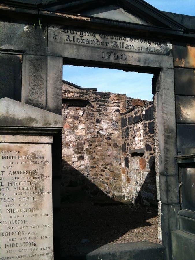 Calton Burial Ground royalty free stock photos