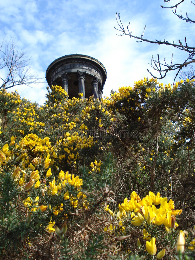 calton Edinburgh wzgórze obraz royalty free