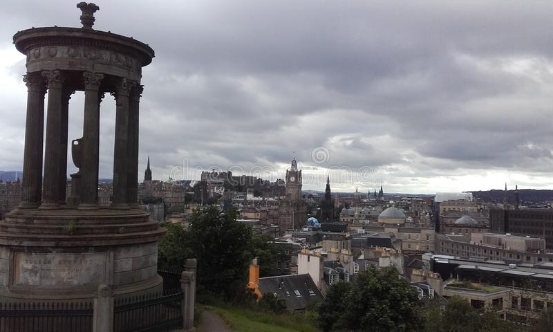 Calton hill royalty free stock image