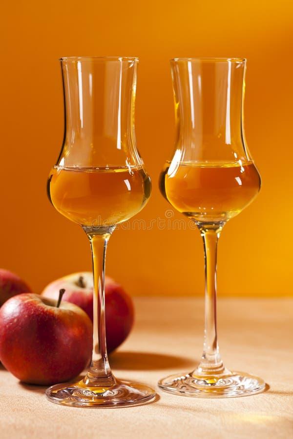 Calvados Brandy zdjęcia royalty free