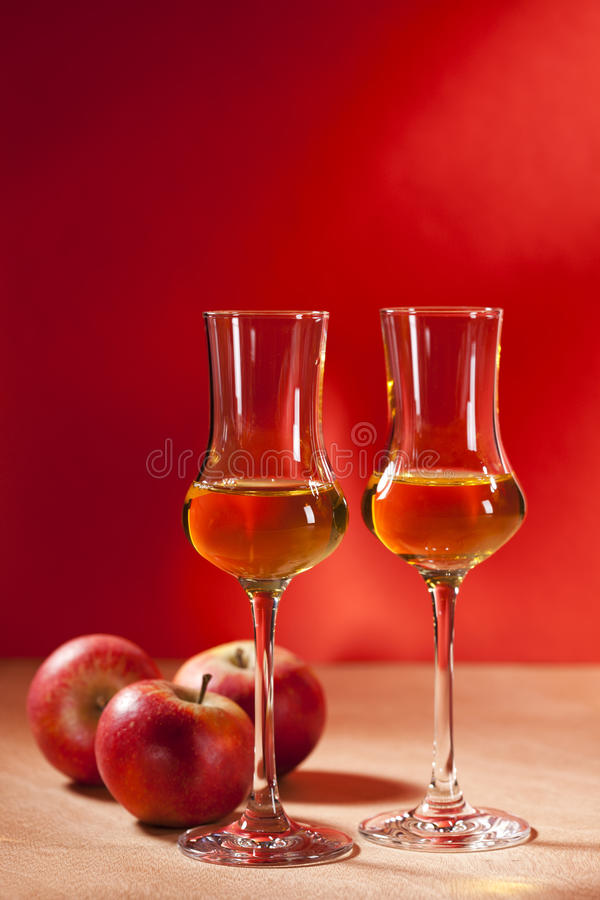 Calvados Brandy royalty free stock images