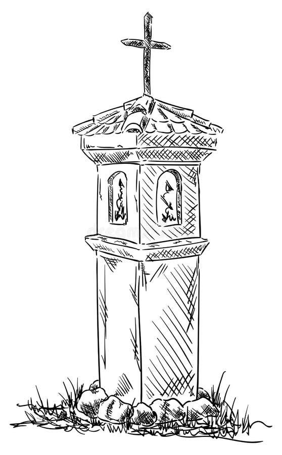 Calvary blanco y negro libre illustration