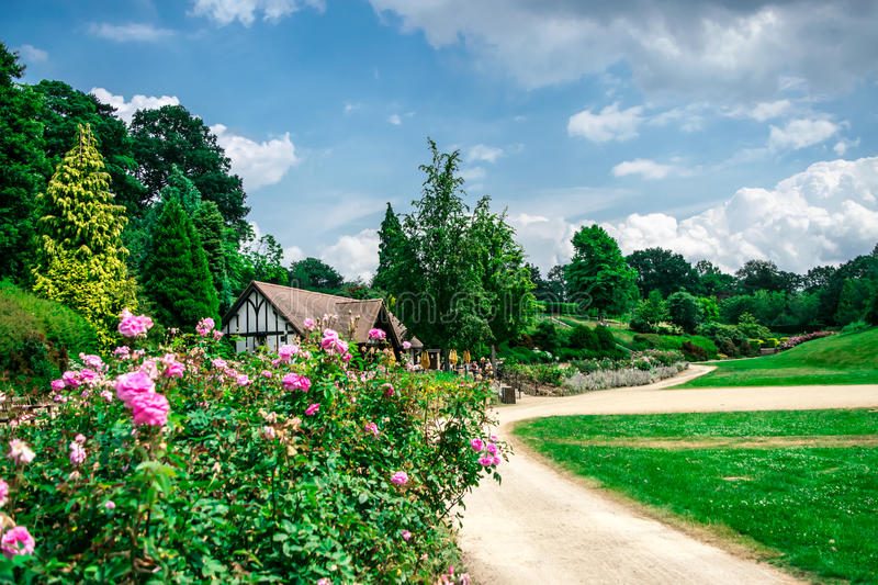 Calvary Park Tunbridge Wells. Beautiful landscape of Calvary Park in Tunbridge Wells , UK stock images