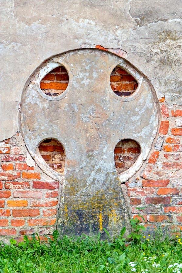 Calvarykorsen veliky novgorod för antagandeauktionkyrka arkivfoto