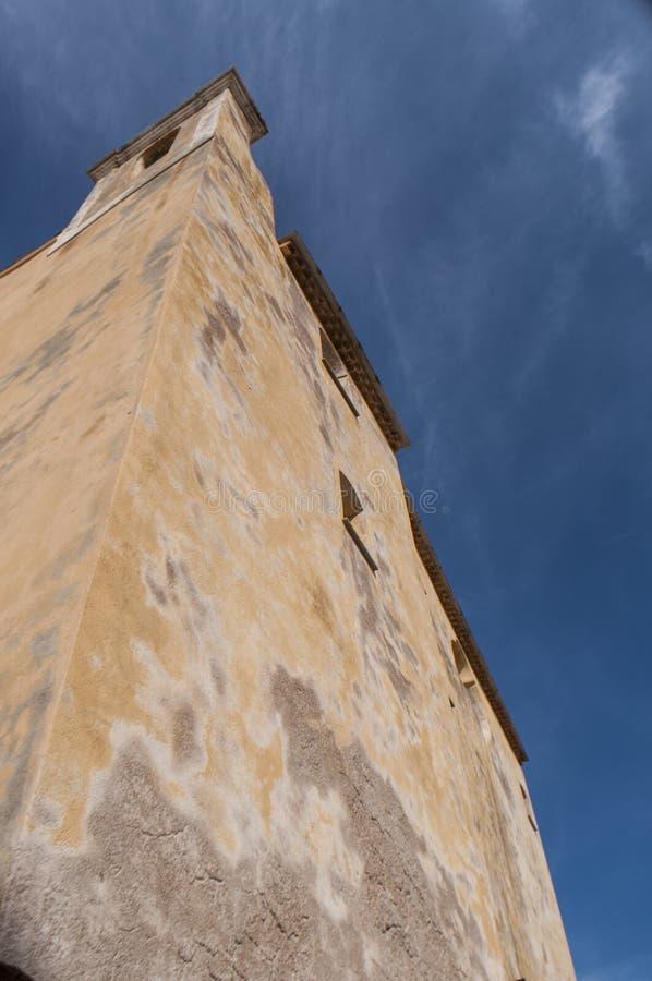 Calvi, цитадель, собор, древние стены, горизонт, Корсика, Corse, Франция, Европа, остров стоковые изображения rf