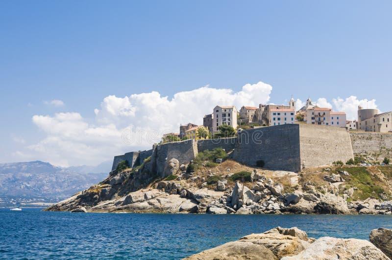 Calvi citadel royalty free stock photography