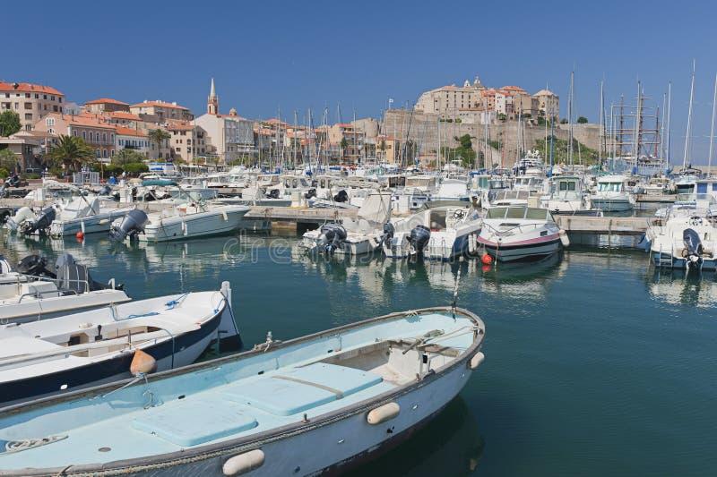 Calvi, Corsica royalty free stock photos
