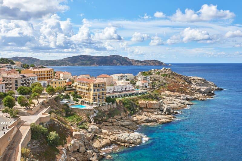 Calvi, Corsica, France. City of Calvi, Corsica, France royalty free stock photography