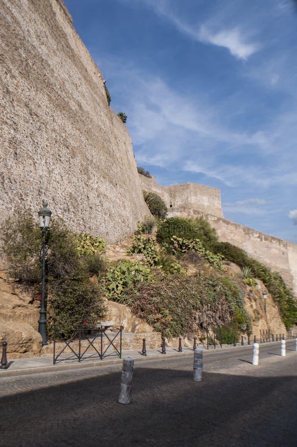 Download Calvi, Cytadela, Antyczne ściany, Linia Horyzontu, Corsica, Corse, Francja, Europa, Islandi Zdjęcie Stock - Obraz złożonej z lampa, cytadele: 106903992