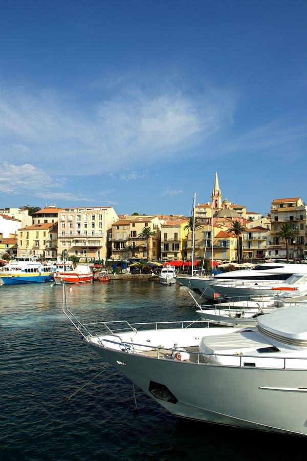 Calvi (Korsika Frankreich) stockfotos