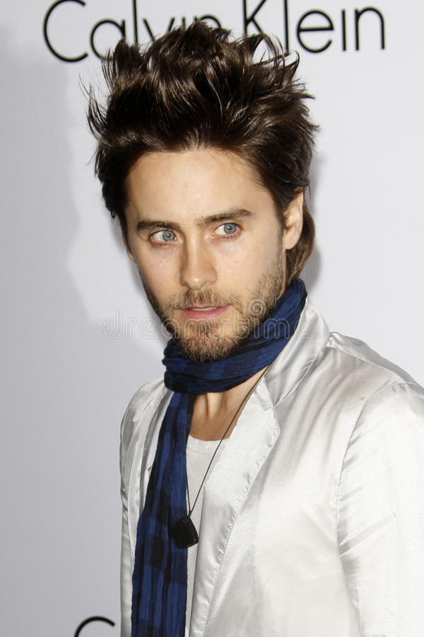 Calvin Klein, Jared Leto photos stock