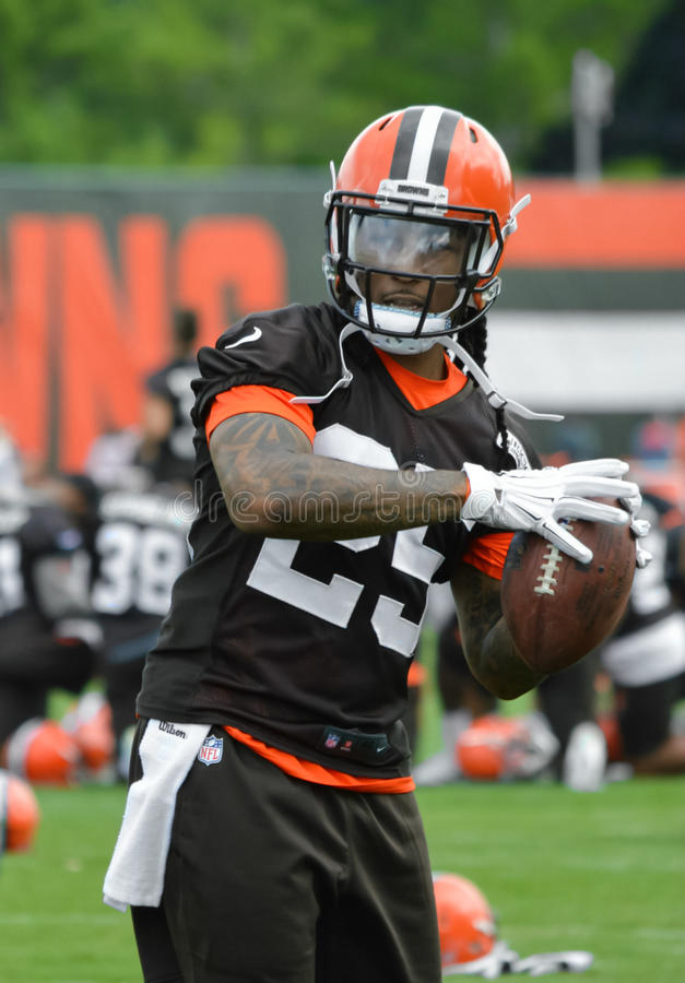 Calvin Pryor NFL 2017 Cleveland Browns photo libre de droits