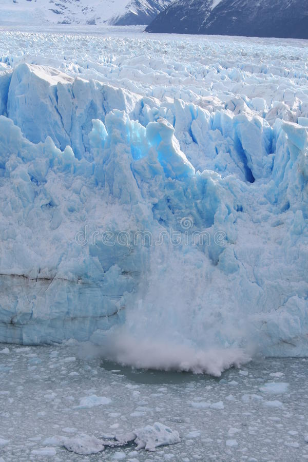 Calving Glacier royalty free stock images