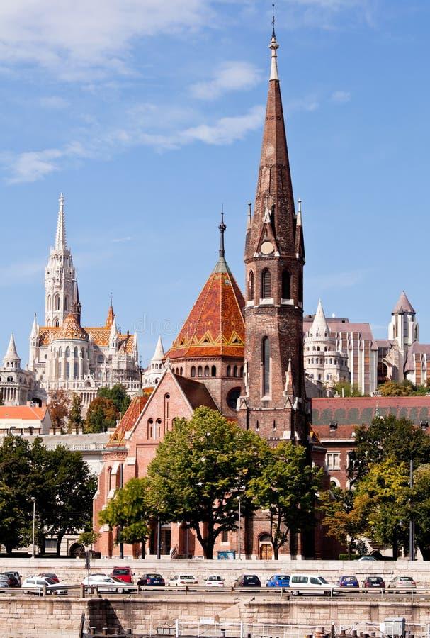 Free Calvinist Church, Budapest, Hungary Stock Images - 21615254