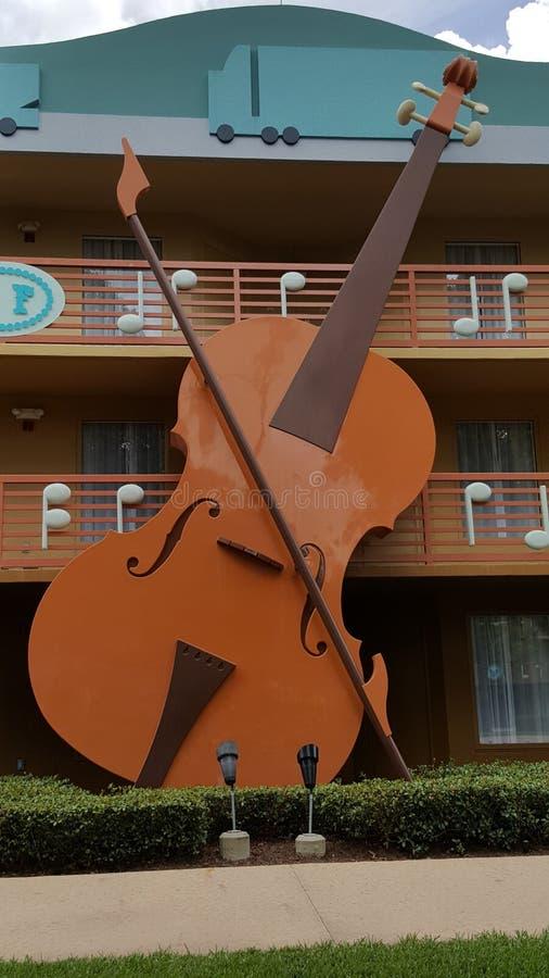 Calypso Building en el centro turístico All-star de la música del ` s de Disney fotografía de archivo libre de regalías