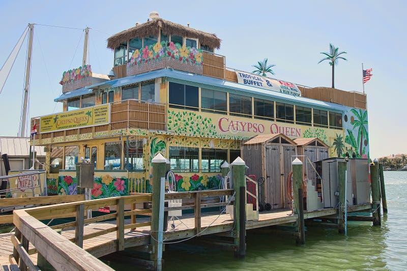 Calypso Queen Tropical Buffet Cruise fotografia stock