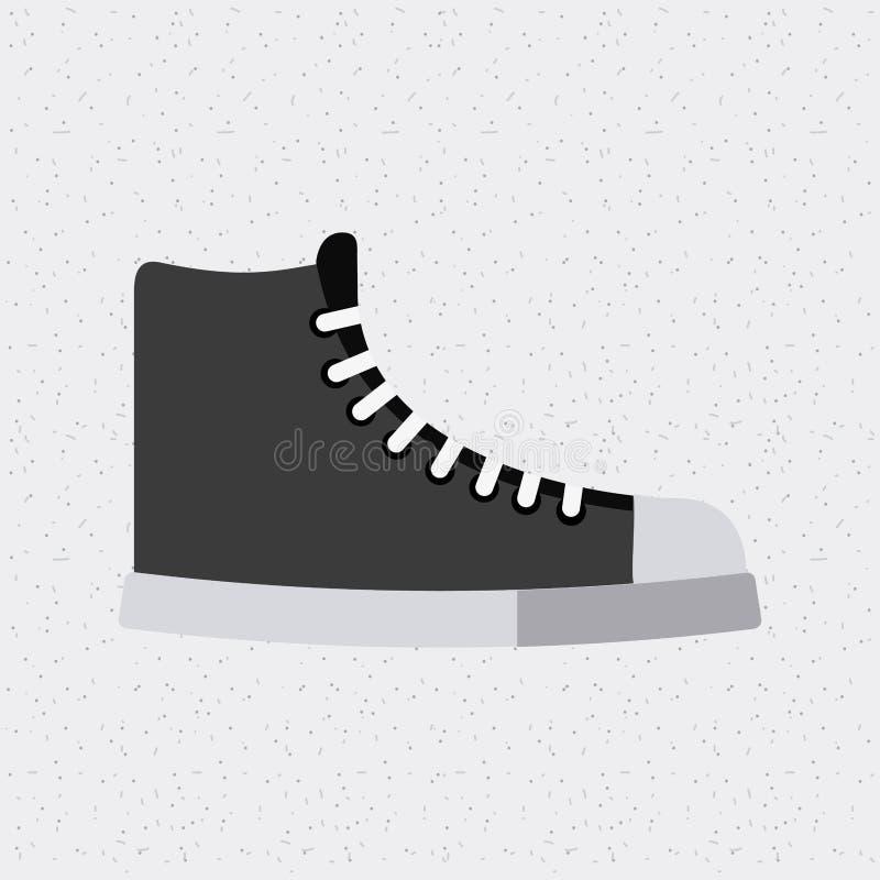 Calza l'icona isolata giovane modo royalty illustrazione gratis