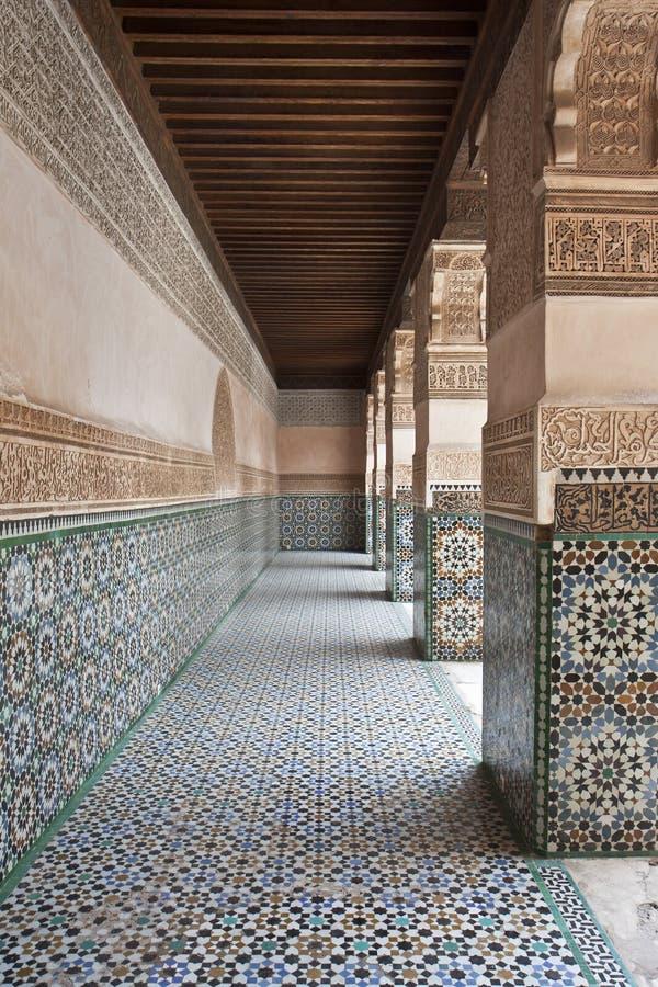 Calzada detallada del viejo árabe foto de archivo