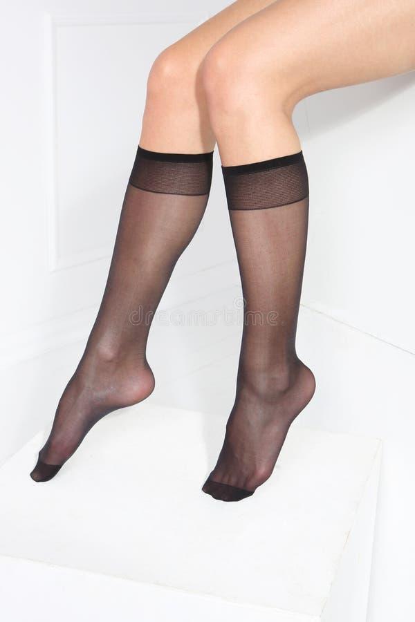 Calzini, i calzini delle donne fotografia stock
