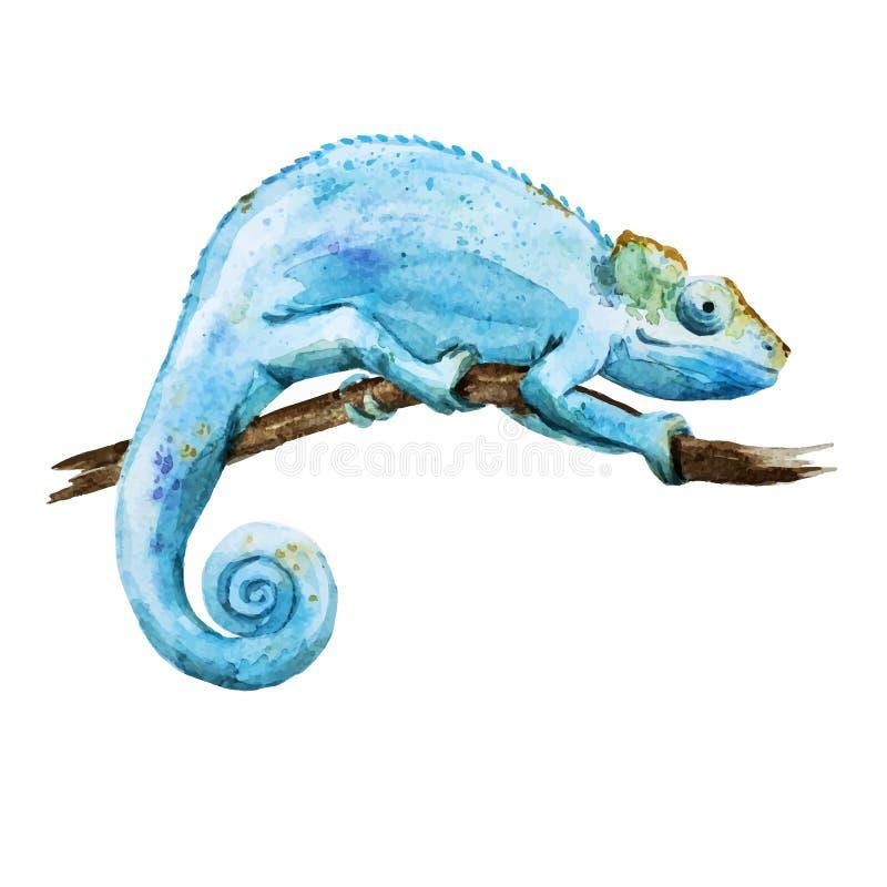 caméléon illustration de vecteur
