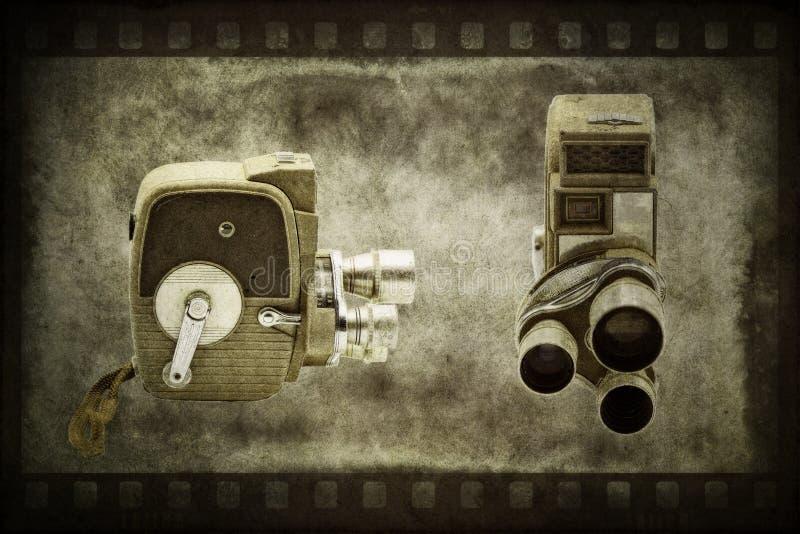 Caméra de home cinéma antique de film photos libres de droits
