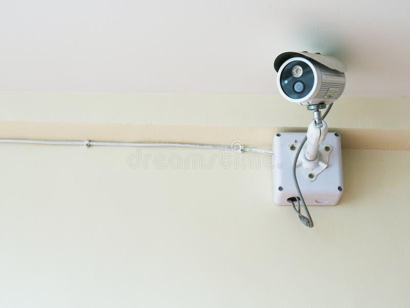 Caméra de sécurité à la maison image libre de droits