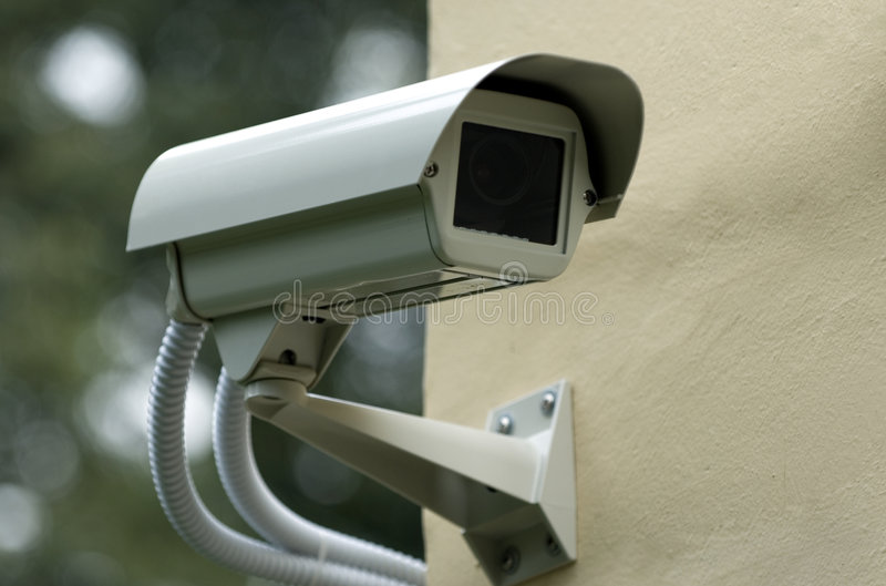 Caméra de sécurité 2 images libres de droits