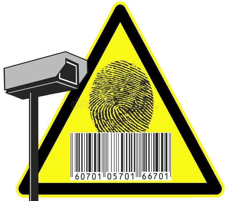 Caméra de sécurité illustration stock