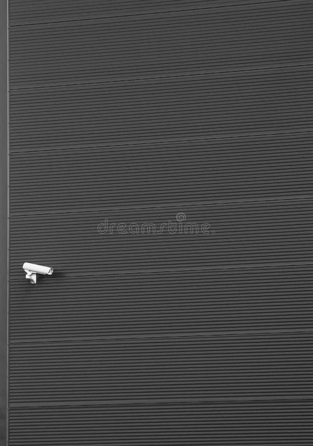 Caméra de sécurité photographie stock