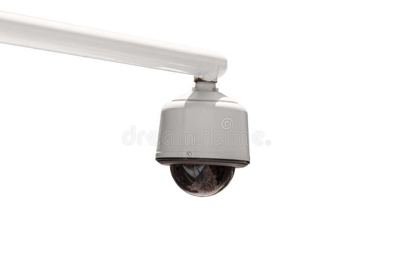Caméra de sécurité extérieure d'isolement image libre de droits