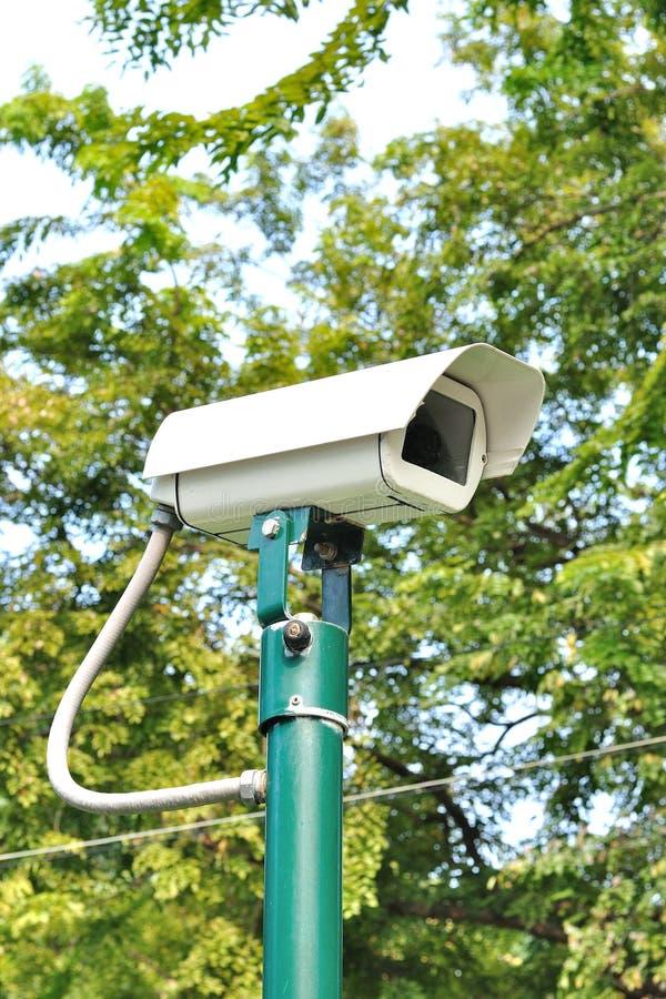 Caméra de sécurité ou télévision en circuit fermé photos libres de droits