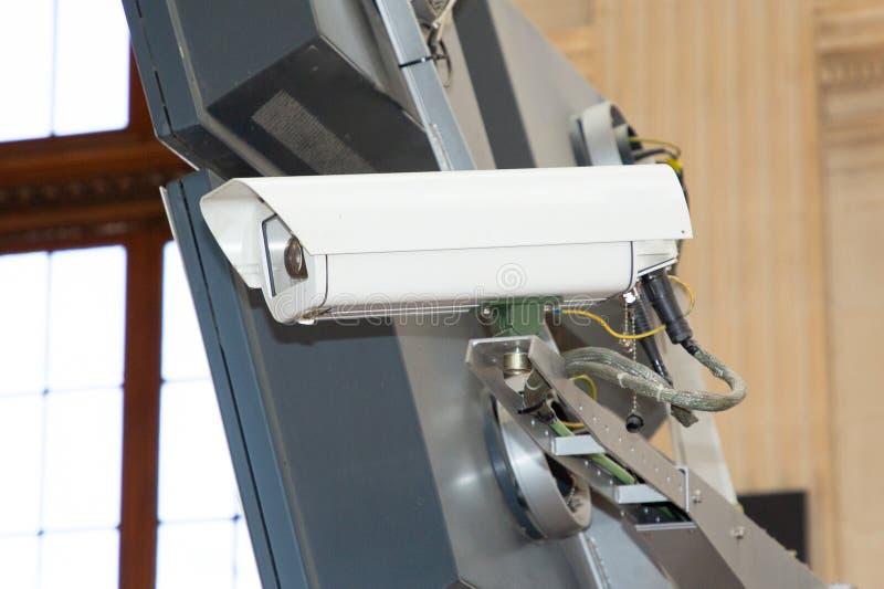 Caméra de sécurité de télévision en circuit fermé pour la surveillance à la maison de degré de sécurité de rue photographie stock libre de droits