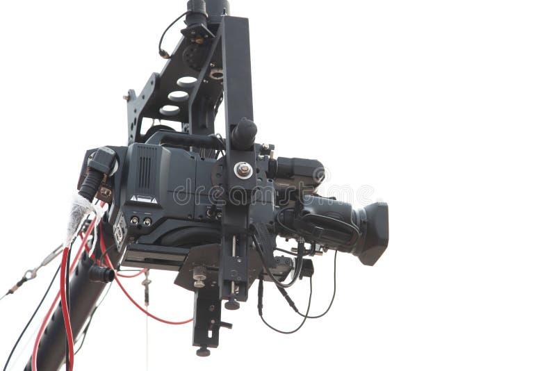 Caméra de télévision de studio photos stock