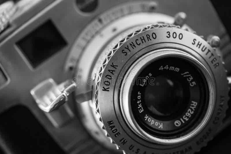 Caméra 300 synchro de Kodak de cru photos libres de droits