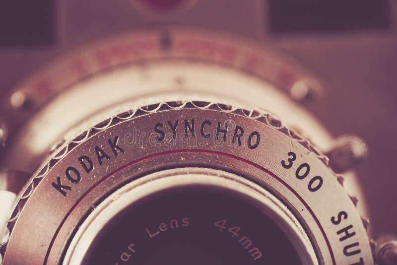 Caméra 300 synchro de Kodak de cru images libres de droits