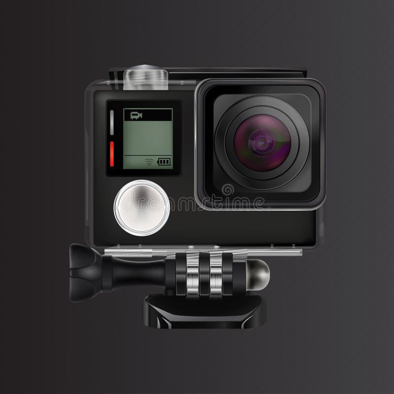 Caméra vidéo d'action photos libres de droits