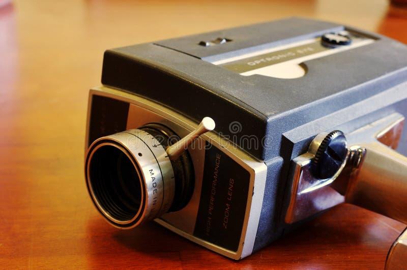 Caméra vidéo 8 de cru salut image stock