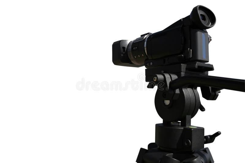 Download Caméra Vidéo De HD Sur Le Fond Blanc Image stock - Image: 5481341