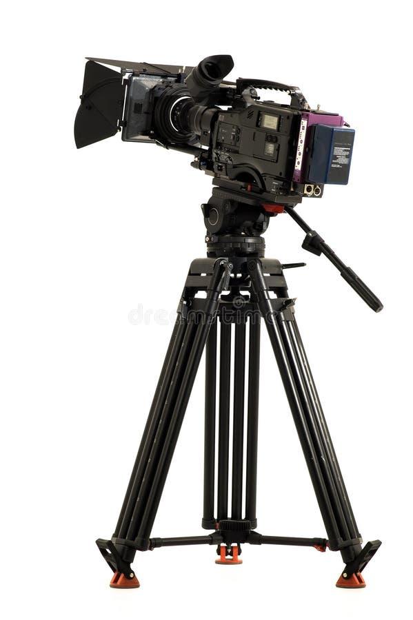 Caméra vidéo digitale professionnelle photo libre de droits