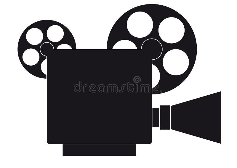 Caméra vidéo neuve illustration de vecteur
