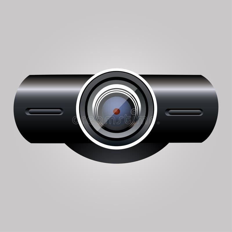 Caméra web illustration de vecteur