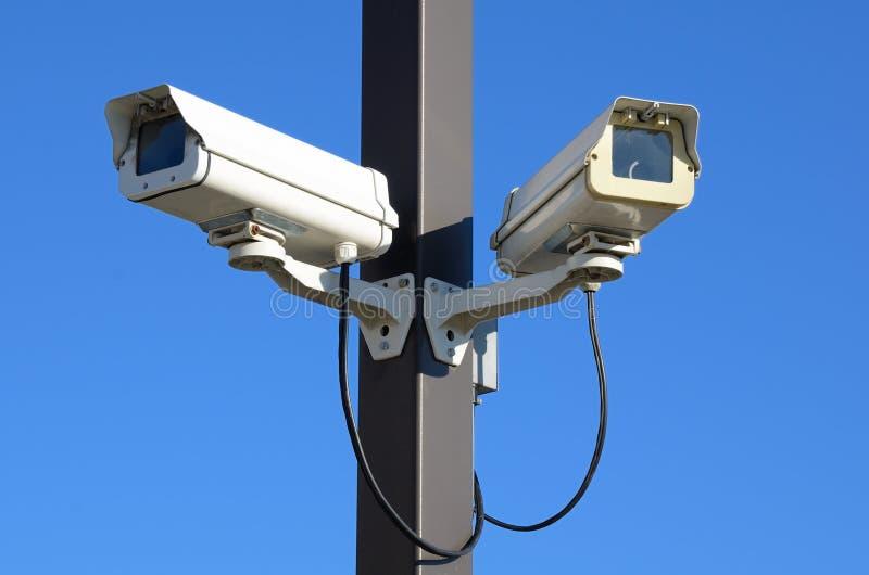 Caméras de sécurité photo stock