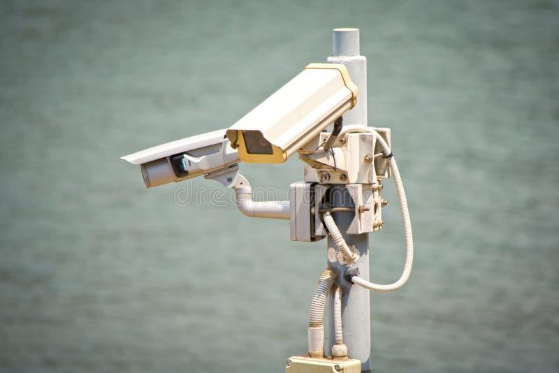 Caméras de sécurité images stock