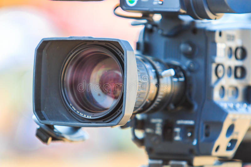 Caméscope ou caméra vidéo photo stock