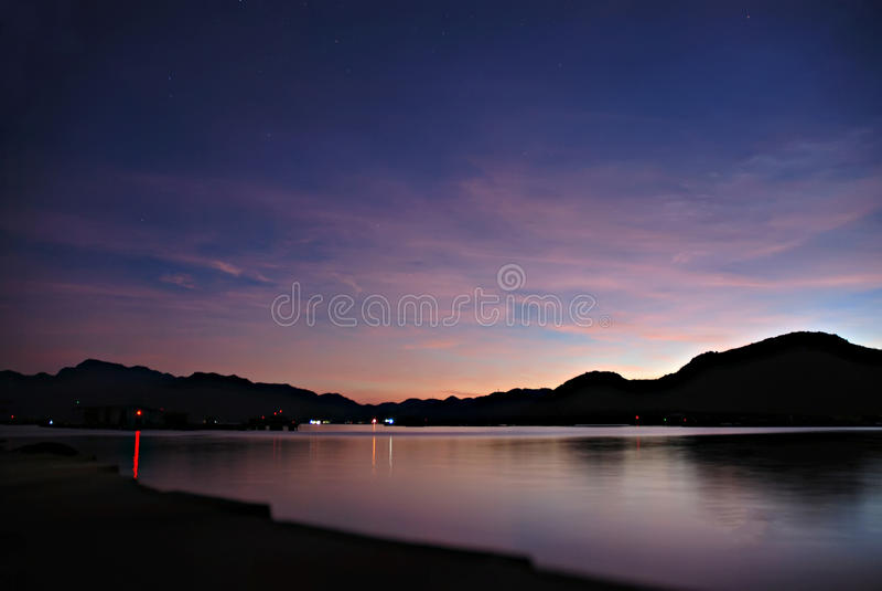 Cam Ranh bay - Binh Ba island royalty free stock images