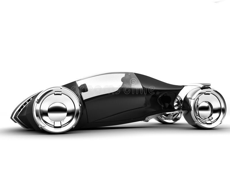 cam2light conceptcar1 d'isolement illustration stock