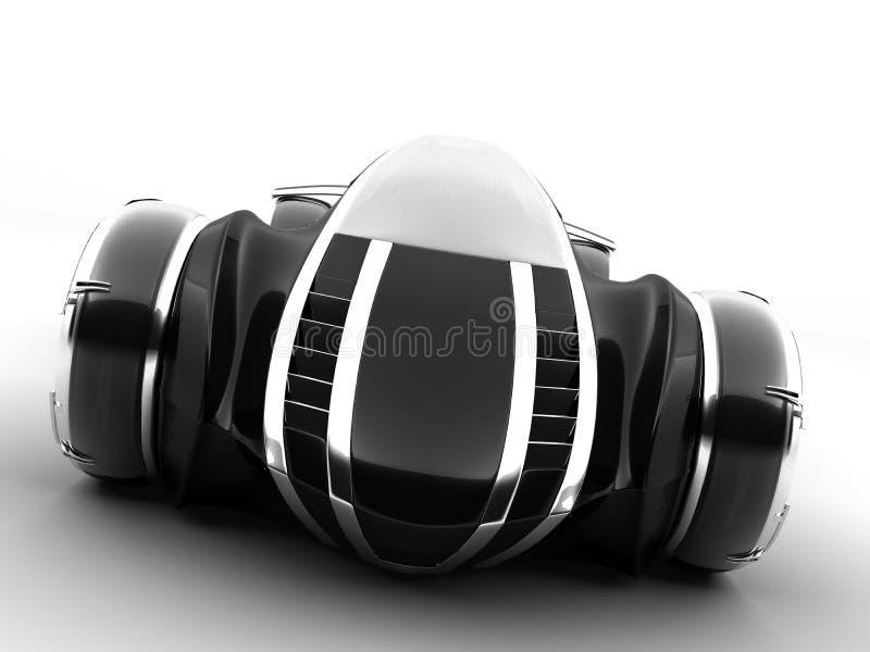cam4light conceptcar1 που απομονώνεται διανυσματική απεικόνιση