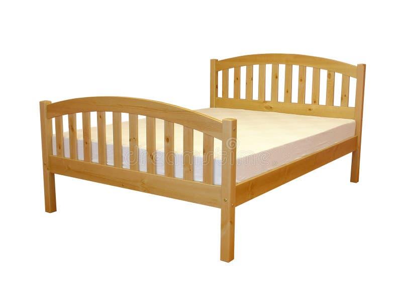 Download Cama foto de stock. Imagem de wooden, sono, vermelho, elevado - 107346