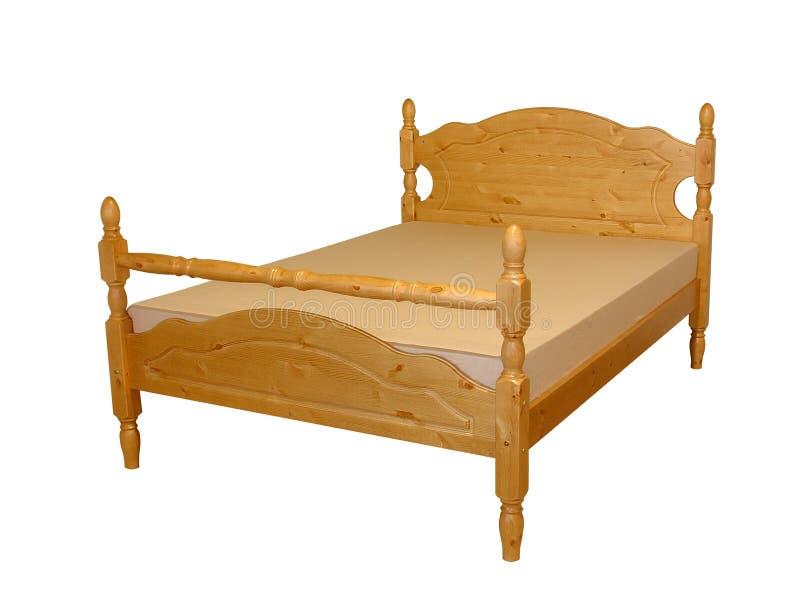 Download Cama imagem de stock. Imagem de bedroom, madeira, mattress - 107347